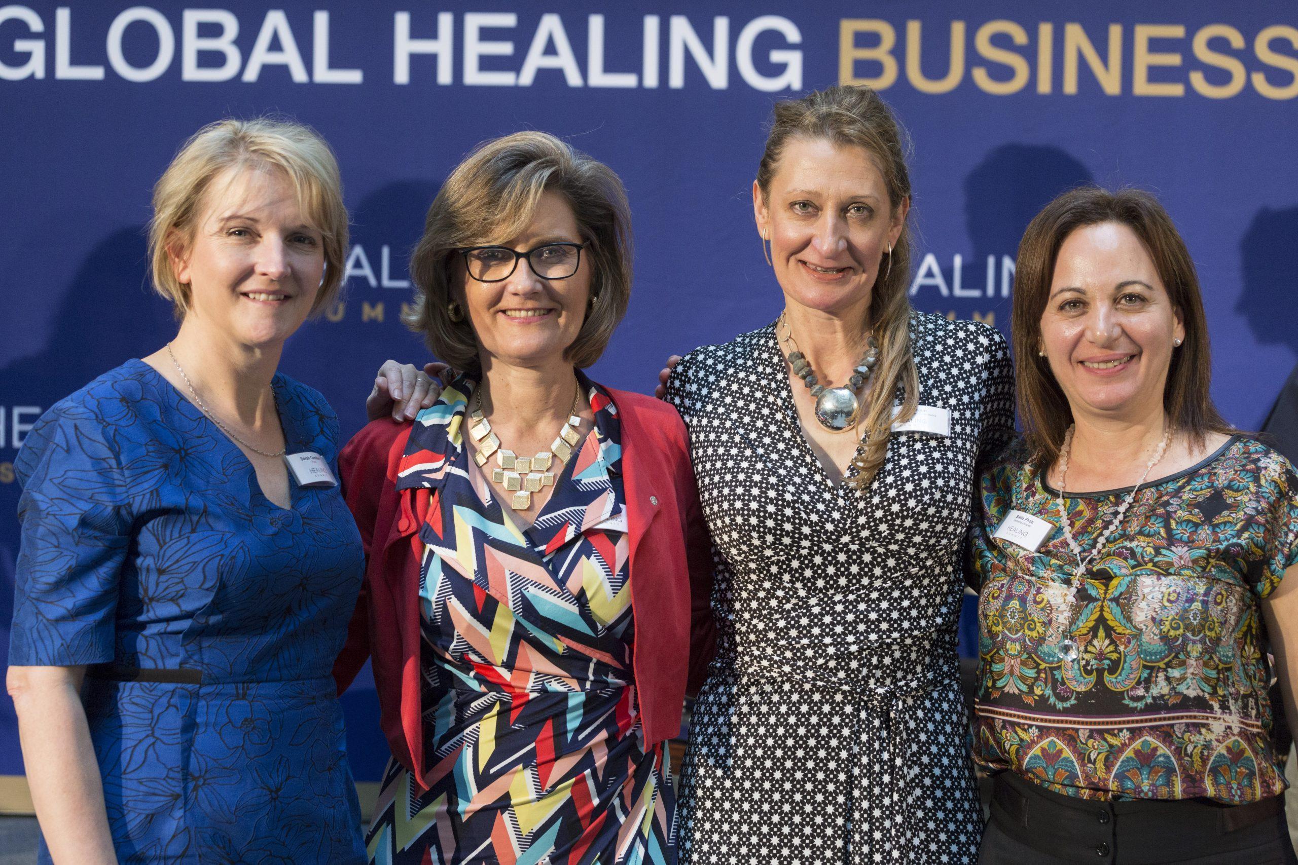 Claudia Roth in Global Healing