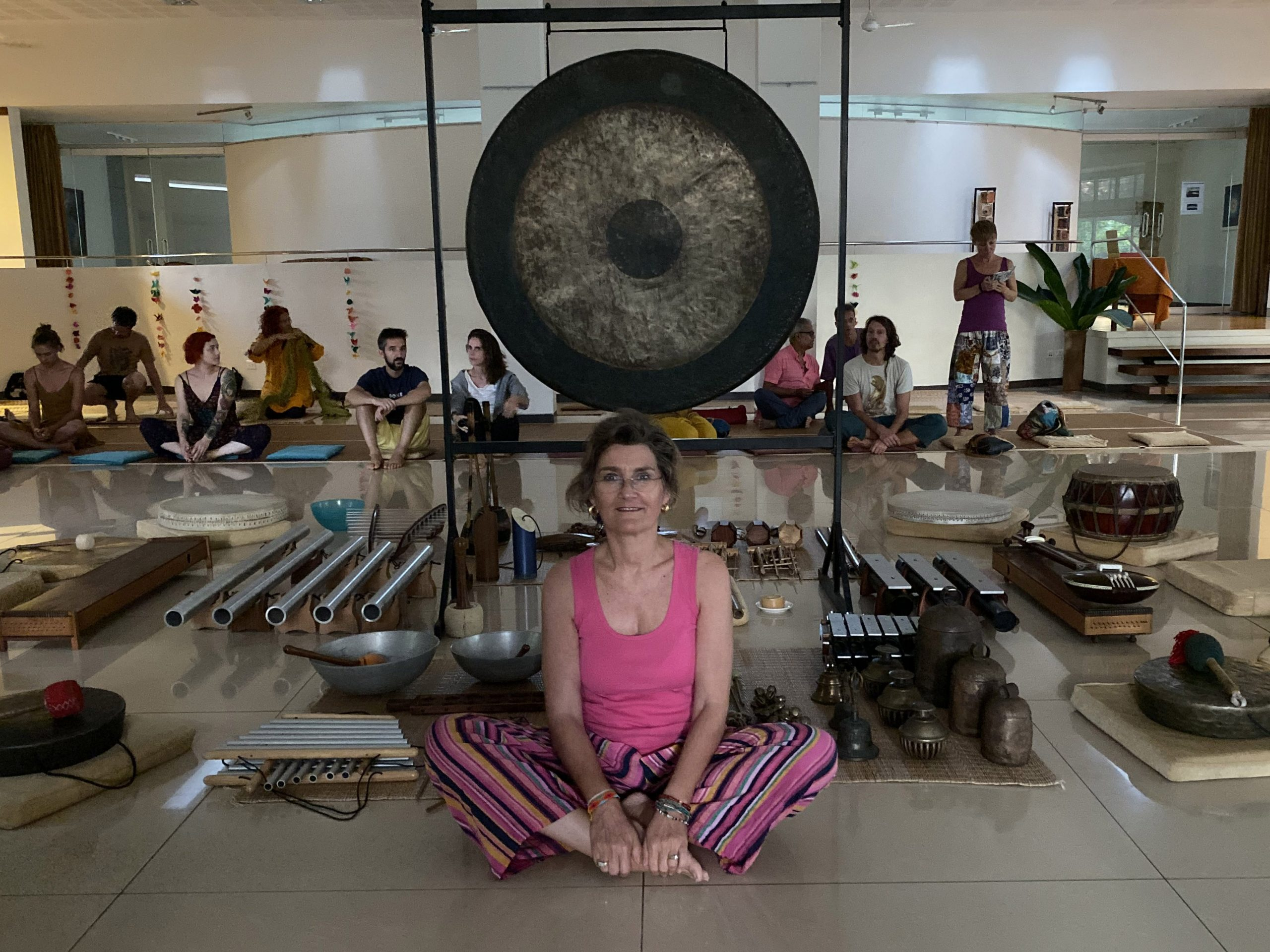 Quantum Field Meditation with Claudia