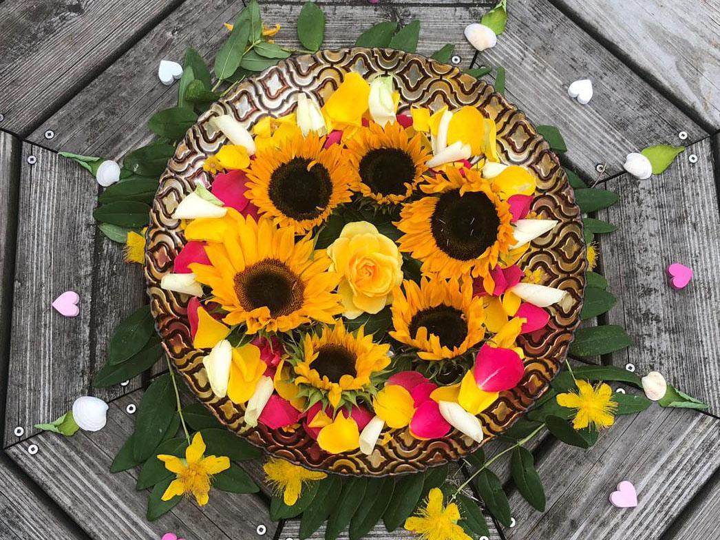 Quantum Energy Coaching bowl of flower